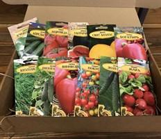 Наборы семян овощей и цветов