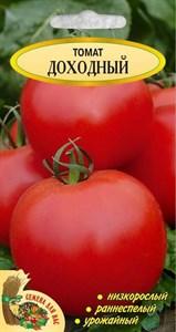 Томат Доходный РС1, 0,2 грамма. Раннеспелый, низкорослый, урожайный, может выращиваться без пасынкования